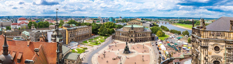 4 Tage Städtereise nach Dresden mit Abendessen in der sächsischen Metropole am Elbufer
